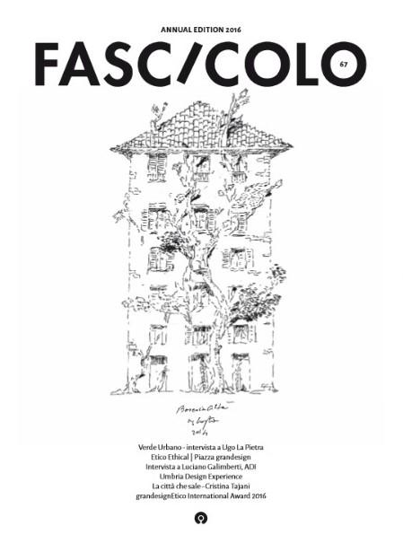 Fascicolo 2016 A cura di Sergio Costa Copertina curata da Ugo La Pietra